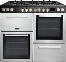 New World MUNROS100DFIN 100cm Dual Fuel Cooker -