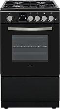 New World NWLS50SGB 50cm Single Gas Cooker - Black