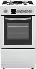New World NWLS50SGW 50cm Single Gas Cooker - White