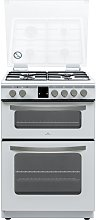 New World NWLS60DDFW 60cm Dual Fuel Cooker - White