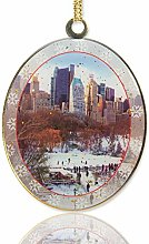New York City Christmas Ornament - Wollman Rink in