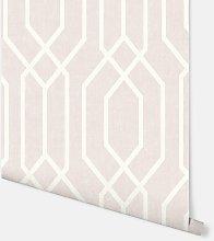 New York Geo Pink Wallpaper 908208 - Arthouse