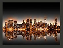 New York Gold 231cm x 300cm Wallpaper East Urban