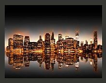 New York Gold 309cm x 400cm Wallpaper East Urban