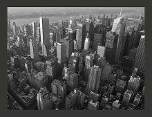 New York: Skyscrapers Bird's Eye View 231m x