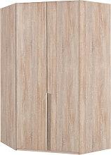 New York Wooden Corner Wardrobe In Oak