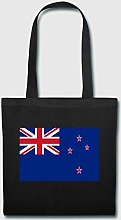 New Zealand Canvas Tote Bag Collapsible Grocery
