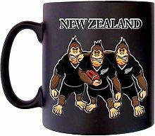 New Zealand Rugby Gorrilla All Blacks Klassek