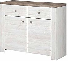 NEWADA II Chest of Drawers Storage Cabinet with 2