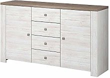 NEWADA II Chest of Drawers Storage Cabinet with 4