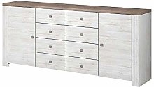 NEWADA II Chest of Drawers Storage Cabinet with 8