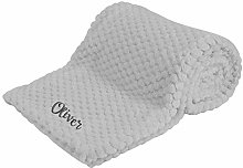 Newborn Baby Soft Fleece Blanket Pram Crib Moses