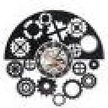 Newchic 12 Inches Mechanism Neck Vinyl Wall Clock