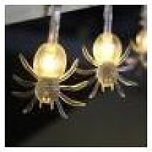 Newchic 2M 20 LED Halloween Spider String Lights