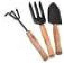 Newchic 3Pcs Garden Hand Tools Set Iron Gardening