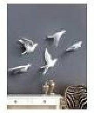 Newchic European 3D Stereo Wall Resin Bird Wall