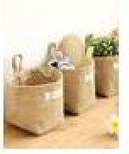 Newchic Linen Desk Folding Storage Bag Cosmetic