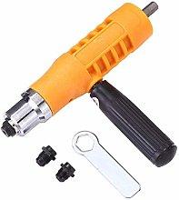Newest 1PC Electric Rivet Nut G-u-n Riveting Tool