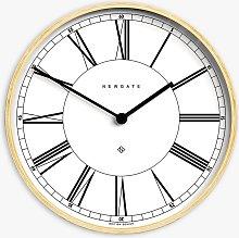 Newgate Clocks Arched Plywood Roman Numeral Wall