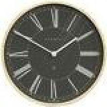 Newgate Clocks - Architect Wall Clock - Black