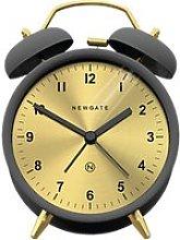 Newgate Clocks Charlie Bell Analogue Alarm Clock,