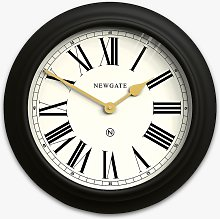 Newgate Clocks Chocolate Shop Roman Numeral