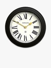 Newgate Clocks Chocolate Shop Roman Numeral