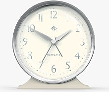 Newgate Clocks Hotel Silent Sweep Alarm Clock,