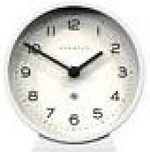 Newgate Clocks - M Mantel Clock - Pebble White