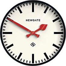 Newgate Clocks Putney Wall Clock, Dia.45cm, Black