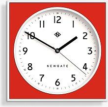 Newgate Clocks Square Analogue Wall Clock, 29cm,