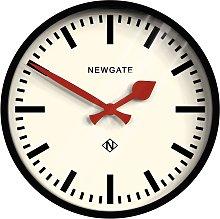 Newgate Clocks The Luggage Clock, Dia.30cm, Black