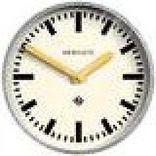 Newgate Clocks - The Luggage Galvanised Wall Clock