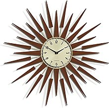 NEWGATE® Pluto Wall Clock in Dark Wood - Kitchen