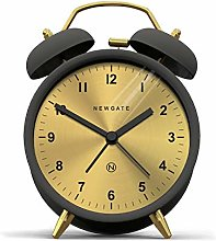 NEWGATE® Twin Bell Silent Sweep Alarm Clock - No