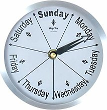Newhaven Bedside Day Clock