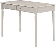 Newlin Desk ClassicLiving Colour: Grey