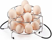 Newness Egg Steamer Rack [Max Capacity 24 Eggs]