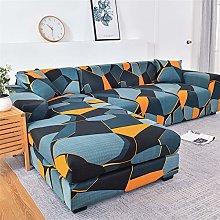 NEWRX L-shaped Sofa Covers for Living Room Elastic