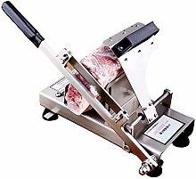 NEWTRY Manual Meat Slicer Commercial Household