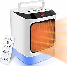 NEWXLT Fan Heater,Portable Electric Heater