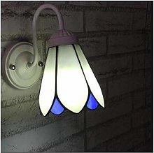 NEXFAN European Candle Wall Lamp,tiffany Style