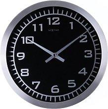 NexTime Blacky Wall Clock 2953