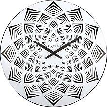 NexTime Bloom Wall Clock, White, 39.5 x 3 x 39.5 cm