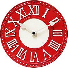 NexTime London Table Clock, Red, 16.5 x 6 x 16.5 cm