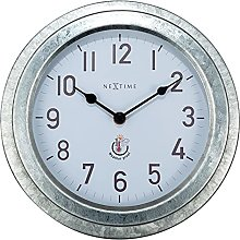 NeXtime Outdoor Clock, Metal, GIS