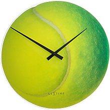 NexTime Roger Wall Clock, Green, 30 x 3.2 x 30 cm