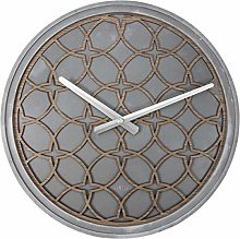 NexTime Wall Clock-Ø 39.5 cm-Polyresin/Wood –