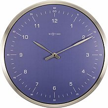 NeXtime Wall Clock-Diameter 33 cm – Metal –