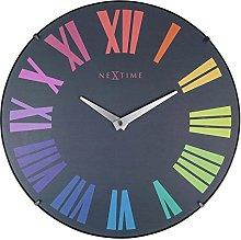 NexTime Wall Clock, Multicolor, 35